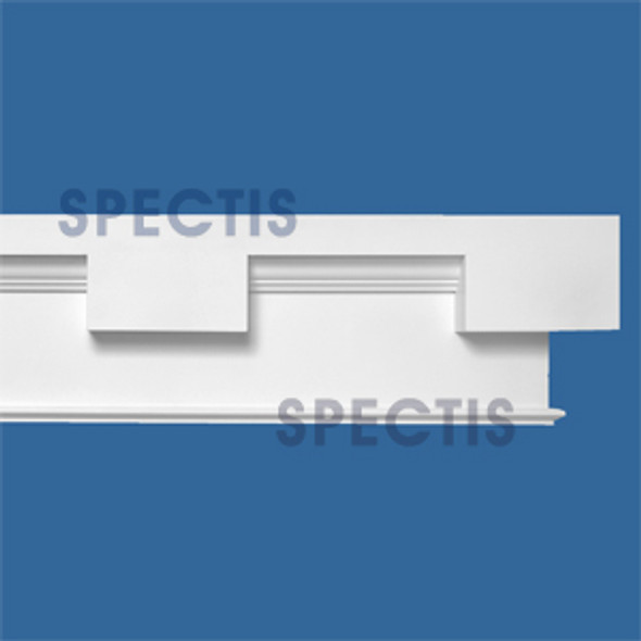 "MD1707L-12/12 Spectis Dentil Trim 3.75""P x 12""H x 144""L-12/12 Left"