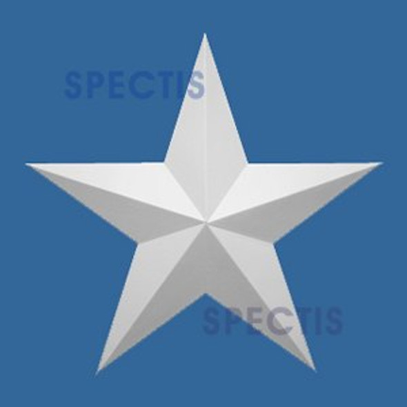 "ST12 Spectis Urethane Decorative Star 12""D X 7/8""P"