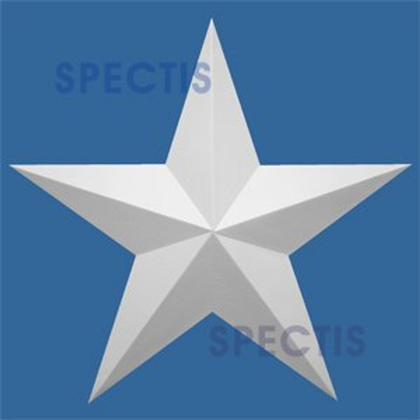 "ST18 Spectis Urethane Decorative Star 18""D X 1 3/4""P"