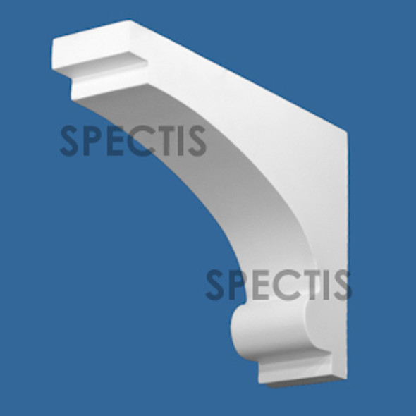 "BL2987 Spectis Eave Block or Bracket 3.13""W x 9.25""H x 13"" Projection"