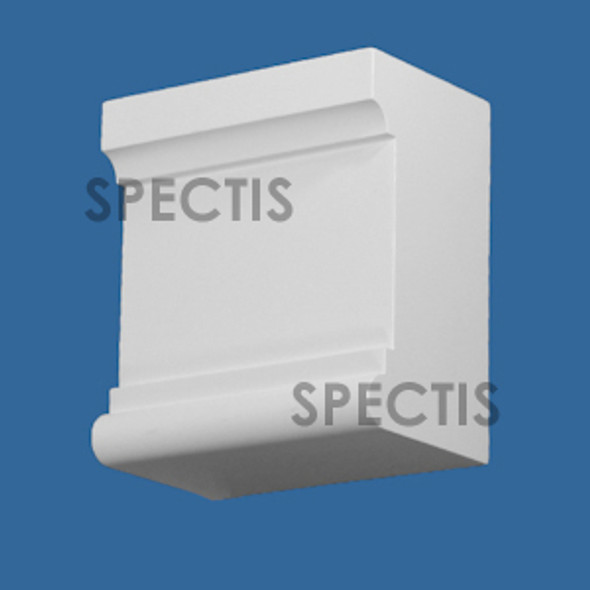 "BL3070 Spectis Eave Block or Bracket 6.25""W x 7""H x 4"" Projection"