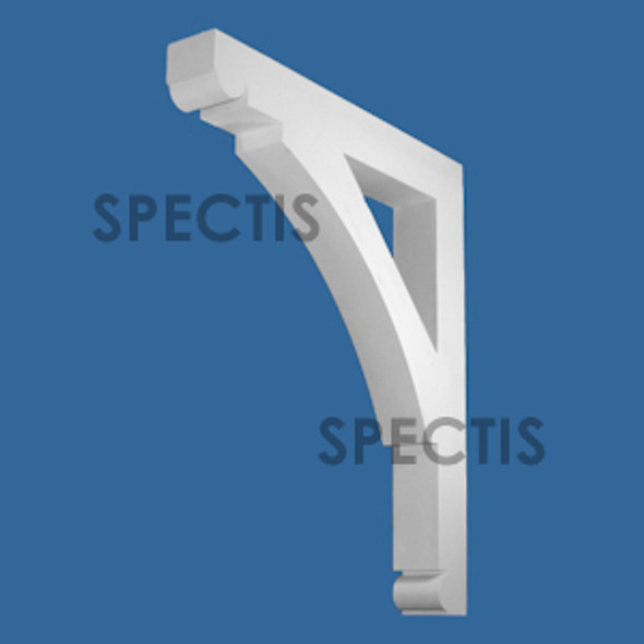 "BL3073 Spectis Eave Block or Bracket 5""W x 44""H x 36.75"" Projection"