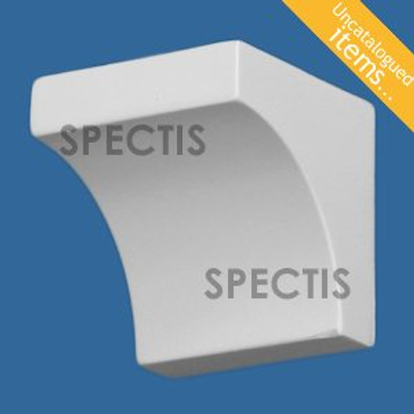 "BL3018 Spectis Eave Block or Bracket 3""W x 3.13""H x 3.13"" Projection"