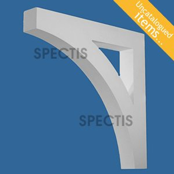 "BL3022 Spectis Eave Block or Bracket 4""W x 30""H x 30"" Projection"