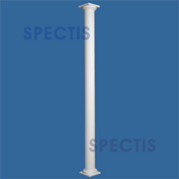 """CLM300-8-10S Smooth Straight Column 8"""" x 120"""" STRUCTURAL"""