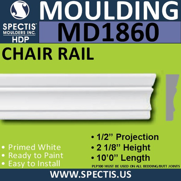 MD1860 CASING Molding Trim decorative spectis urethane