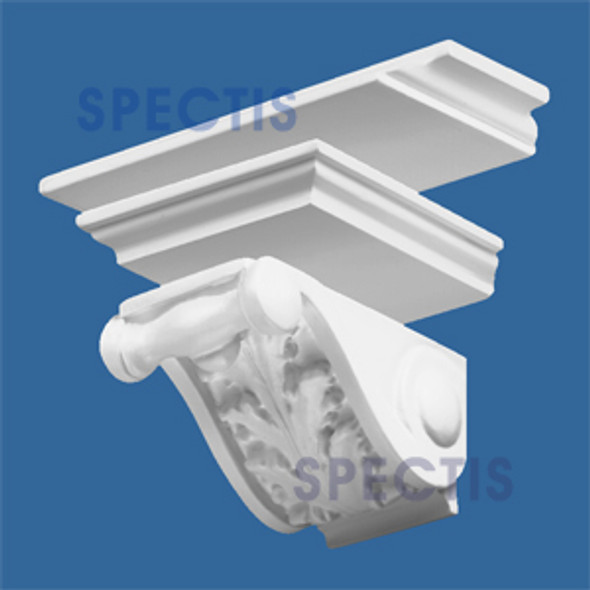 "BL2476 Combined Corbel Block or Eave Bracket 7""W x 4""H x 5"" P"