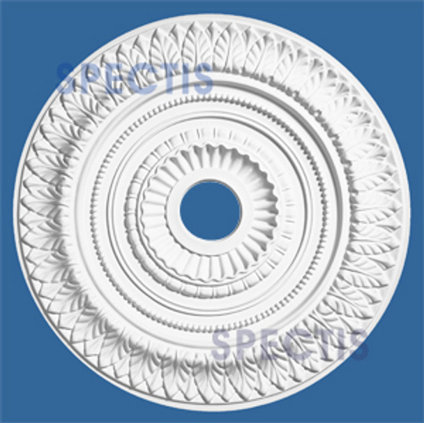 "CM2626L 25.1"" Round Decorative Ceiling Medallion 3 5/8"" Hole"