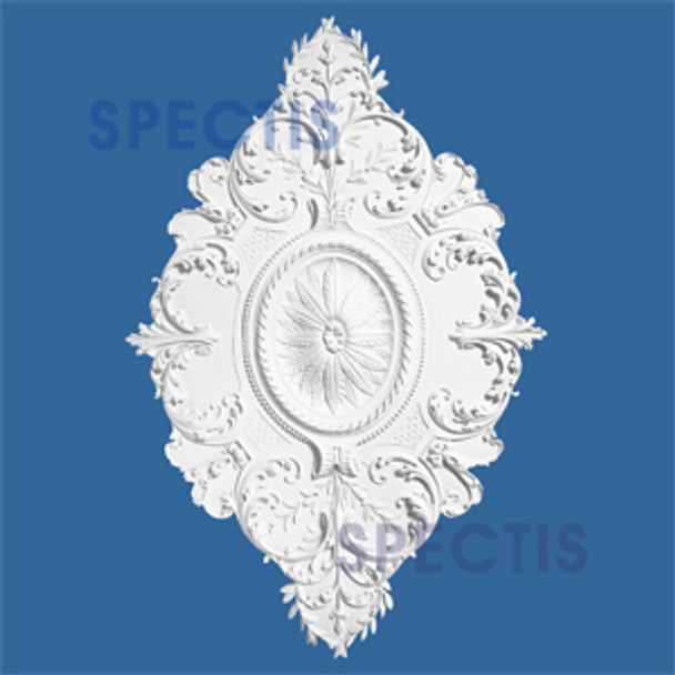 "CM4671 46"" x 71"" Oval Shape Decorative Ceiling Medallion"