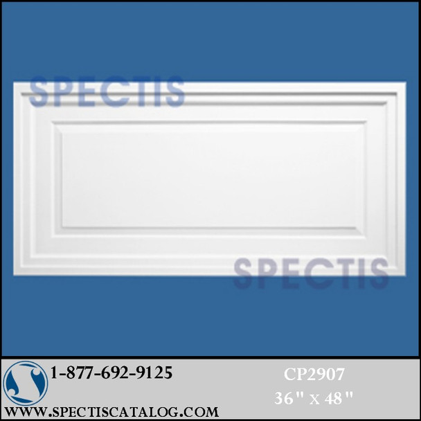 """CP2907 36"""" X 48"""" Rectangular Decorative Wall or Ceiling Panel"""