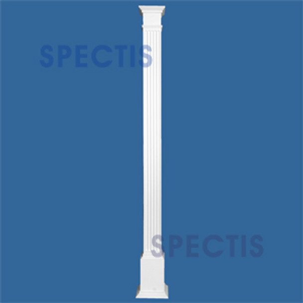 "FBCS8120 8"" x 120"" Structural Fluted Box Column"