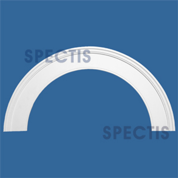 """AT1025-72 Arch Circle Top 5.5"""" Wide - Fits 72"""" Opening"""