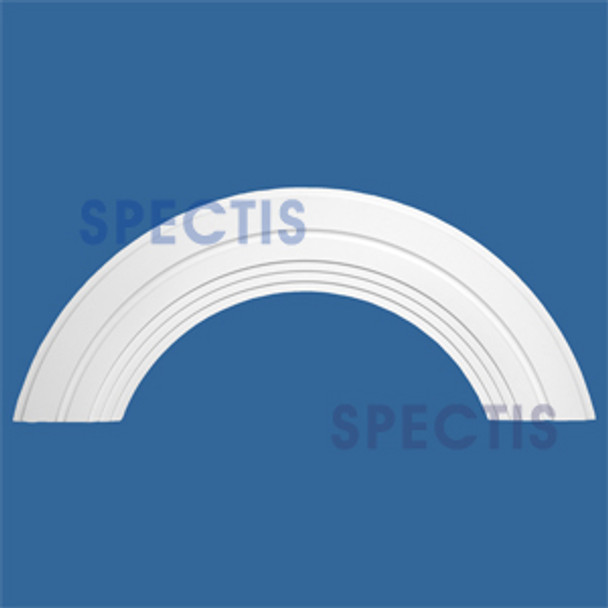 "AT1365-68 Arch Circle Top 10"" Wide - Fits 68"" Opening"