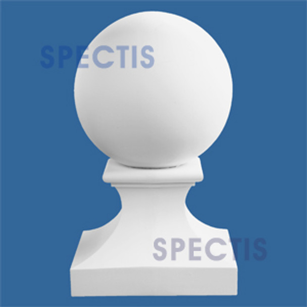 "BA12.5 Spectis 12"" Ball on Pedestal for Newel Post 12.5"" Base"