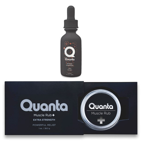 Quanta CBD Cream For Muscle Pain Relief