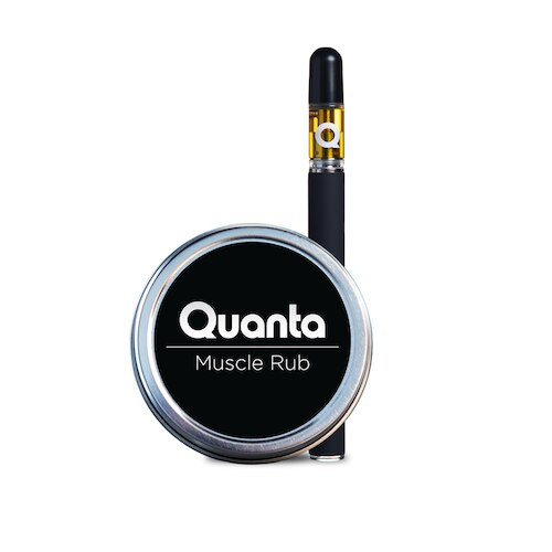 QUANTA CBD MUSCLE RUB & VAPE PEN BUNDLE
