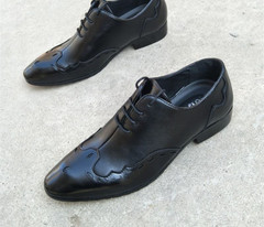 Accent Shoes Italian Appointment Wedding-Heren Appearance For Men Nette Schoenen Leather Dress Shoes