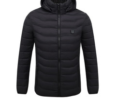 Acrimonious Jacket Coats Hooded Smart-Thermostat Hiking Winter Women Toppick Skiing Pure-Color Winter Hiking Jacket
