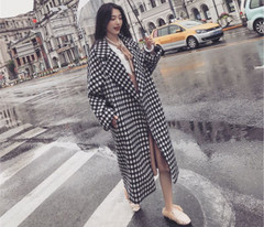 Abrigo Coat Cocoon-Typen-Version Analysis Long Mujer For Over-Knee Thickened Women Coats