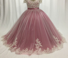 Ball-Gown Evening-Dresses Chaplet Robe-De-Soire Formal Sleeveless Pink Formal Evening Gowns
