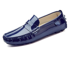 Men Casual Shoes Luxury Split Leather Fashion Boat Shoes Men Italian Slip On Loafers Hombre Loafer Shoes For Mens