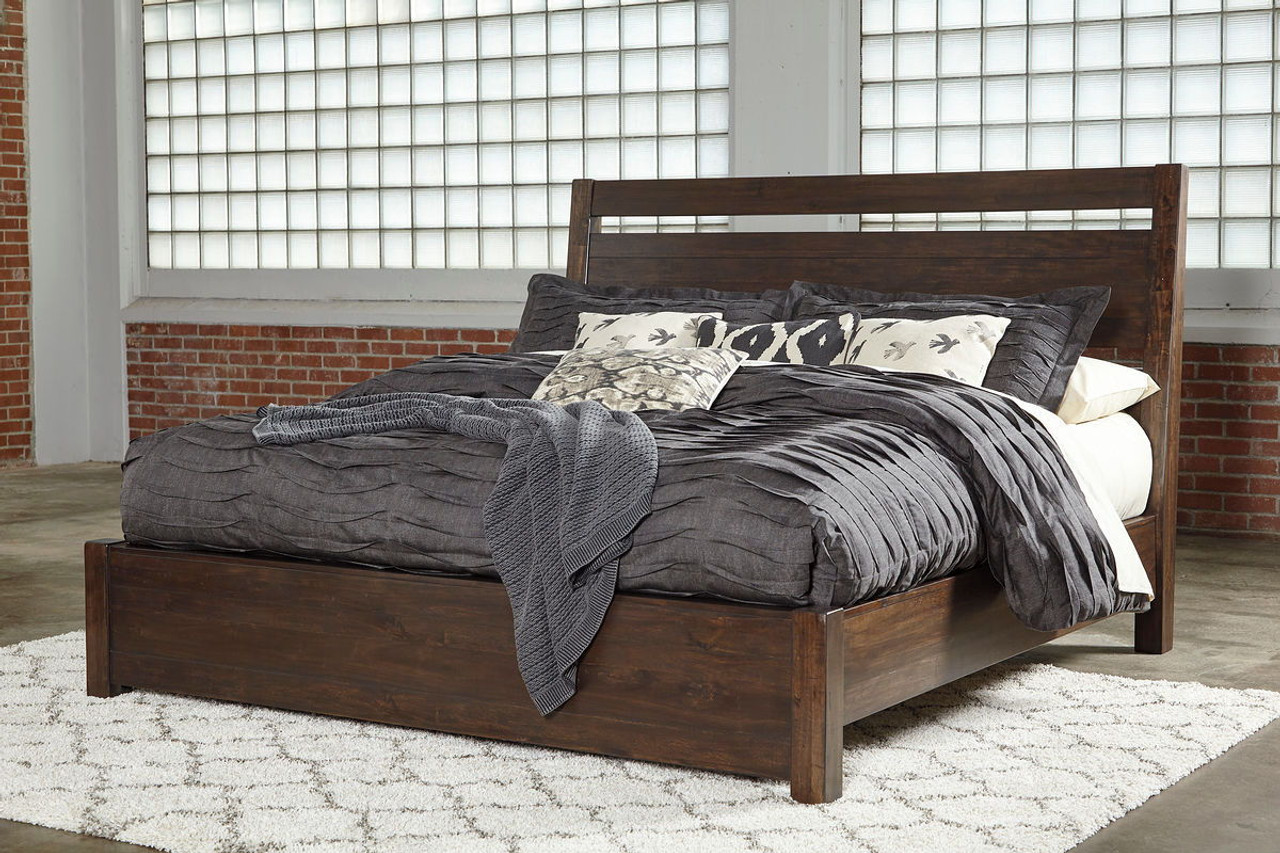 The Starmore Brown California King Panel Bed Available At Furniture Connection Serving Clarksville Tennessee And Ft Campbell Kentucky