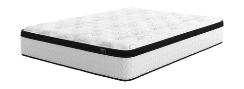 Chime 12 Inch Hybrid White California King Mattress
