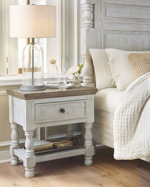 Havalance Two-tone One Drawer Night Stand