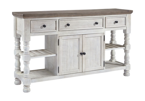 Havalance White/Gray Dining Room Server