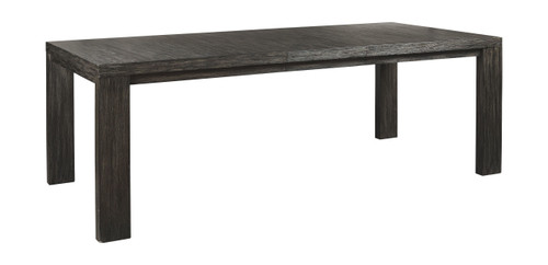 Bellvern Dark Gray Rectangular Dining Room Extension Table