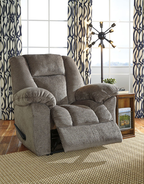 Nimmons Taupe Zero Wall Recliner
