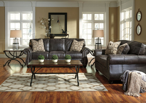 Breville Charcoal Sofa & Loveseat