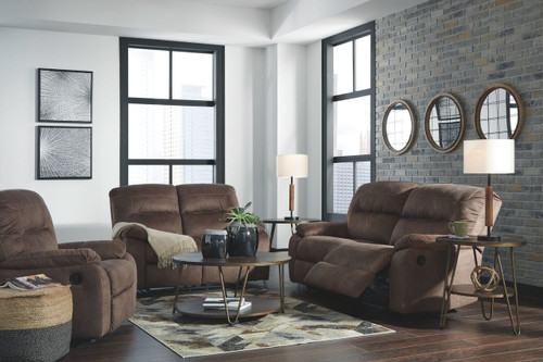 Bolzano Coffee 2 Seat Reclining Sofa, Reclining Loveseat & Rocker Recliner