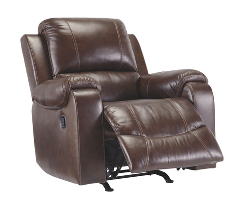 Rackingburg Mahogany Rocker Recliner