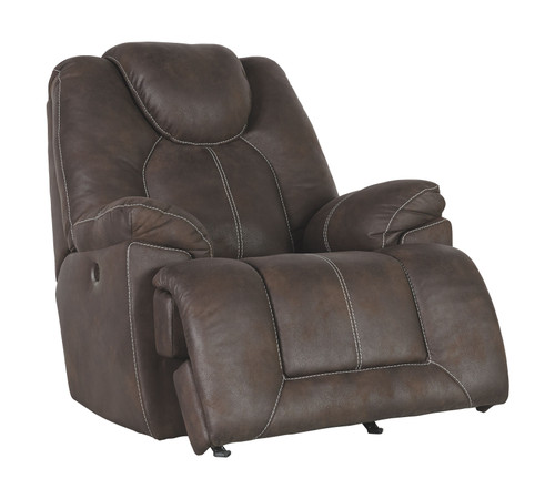 Warrior Fortress Coffee Power Rocker Recliner