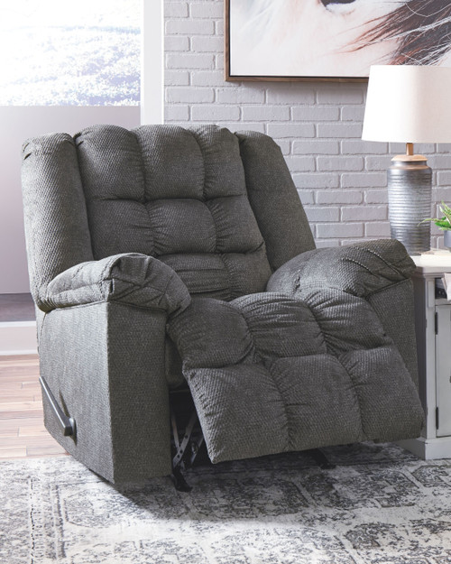 Drakestone Charcoal Rocker Recliner