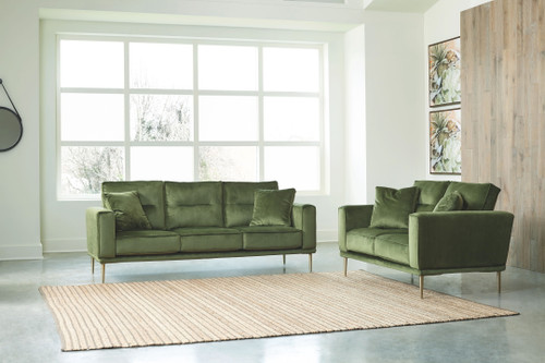 Macleary Moss 2 Pc. Sofa, Loveseat