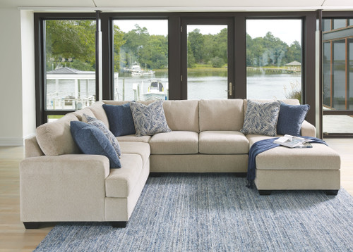 Enola Sepia Left Arm Facing Loveseat, Wedge, Armless Loveseat, Right Arm Facing Corner Chaise Sectional