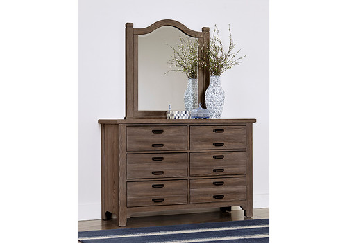 Bungalow Double Dresser - 6 Drawers