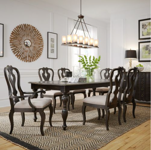 Chesapeake Rect. Dining Table & 6 Chairs