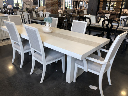 Mirage Dining Table & 6 Chairs