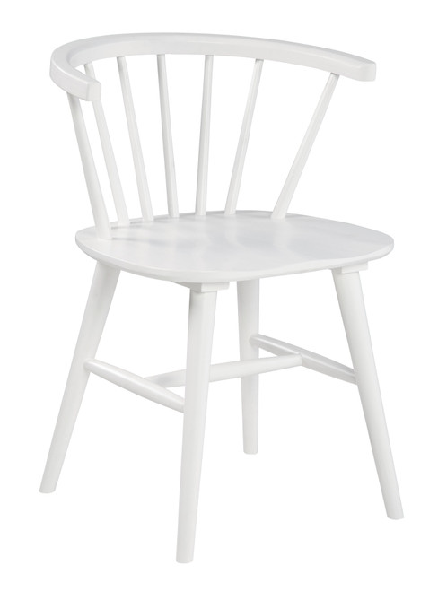 Grannen White Dining Room Side Chair