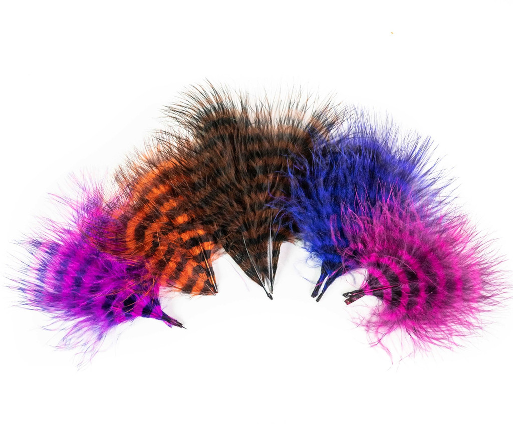 MFC Barred Marabou Blood Quill