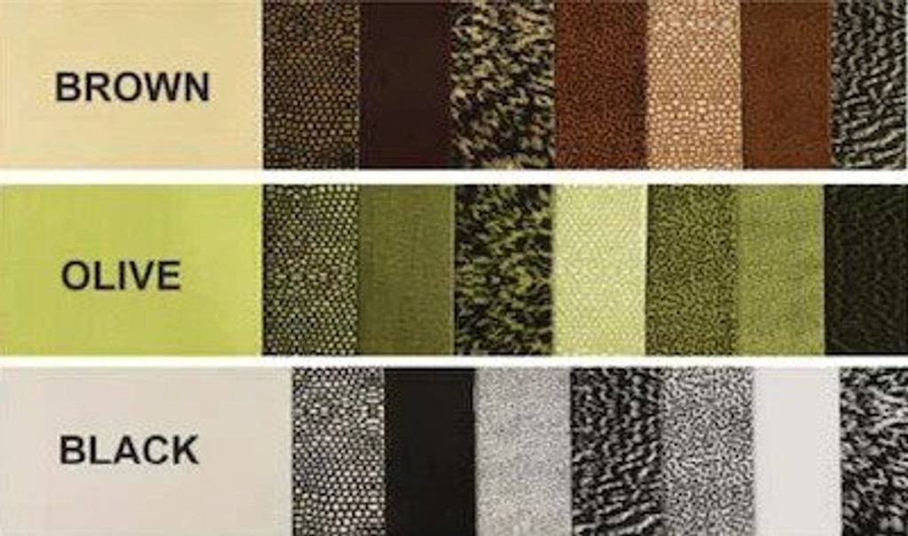 WAPSI THIN SKIN 8 PACK MIXED GREY COLOURS THINSKIN NEW FLY TYING MATERIALS
