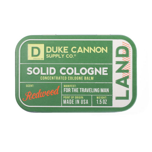 Duke Cannon Solid Colognes