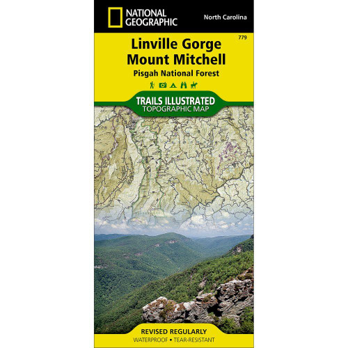 National Geographic Linville Gorge Mount Mitchell Map