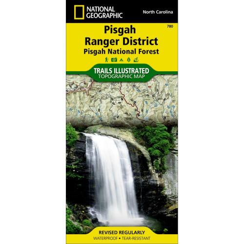 National Geographic Pisgah Ranger District Map