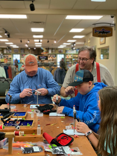The Tying Bench (via Zoom) - Tying the Brimbuster! Sat. 4/17, 10AM