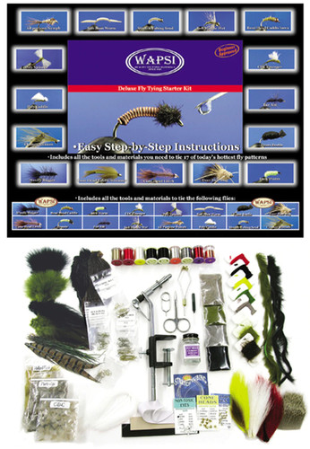 Wapsi Deluxe Fly Tying Kit