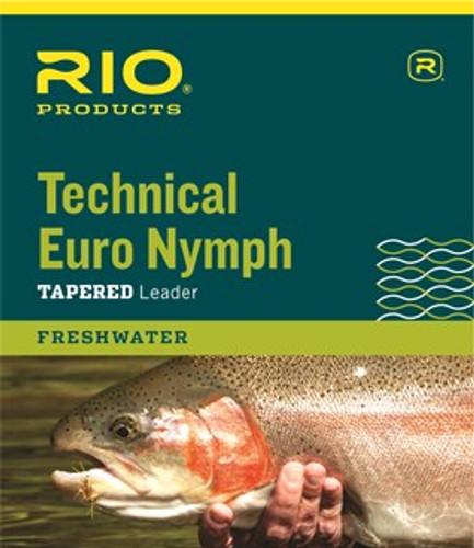 Rio Technical Euro Nymph Leader 2x-4x